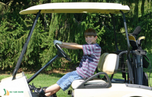 how old do you have to be to drive a golf cart