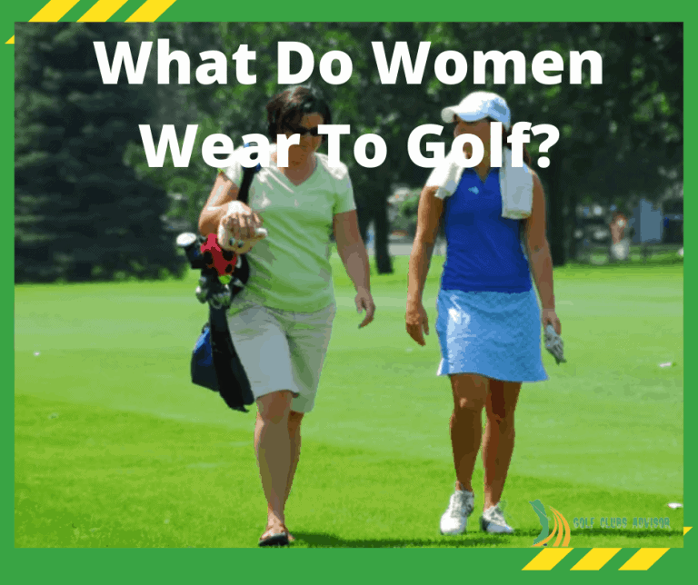 what do women wear to golf?